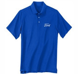 Performance Polo Ford Logo Blue