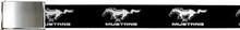 Mustang Running Pony Logo Web Belt