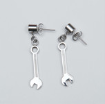 Earrings - Combination Wrench