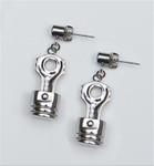 Earrings - Piston & Connecting Rod