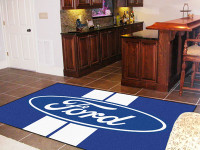 """Ford Oval Stripes 60""""x92"""" Area Rug"""