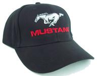 Mustang Running Horse Hat (Black)