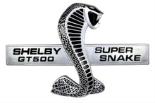 Shelby GT500 Super Snake Wall Plaque