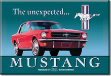 """The Unexpected . . . Mustang"" Magnet"