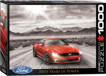 2015 Ford Mustang Puzzle - 1000 Pieces