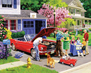 Ready For A Drive - Mustang- 1000 Piece Puzzle