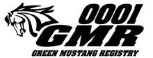 GMR Member/Bumper # Decals - Reprint