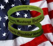 GMR DAV Wristband - Support our Veterans!
