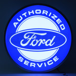"FORD SERVICE 15"" LED BACKLIT SIGN"
