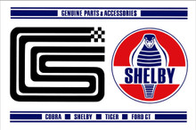 Genuine Shelby Parts Sign 17""