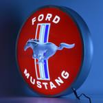 """Ford Mustang 15"""" LED Backlit Sign"""