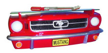 19641/2 Ford Mustang Front 3-D wall Shelf