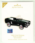 2007 Hallmark Ornament - 1964 1/2 Mustang Kiddie Car Classic