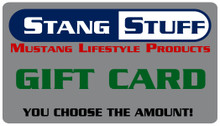 StangStuff Gift Card: $5.00 - $1000