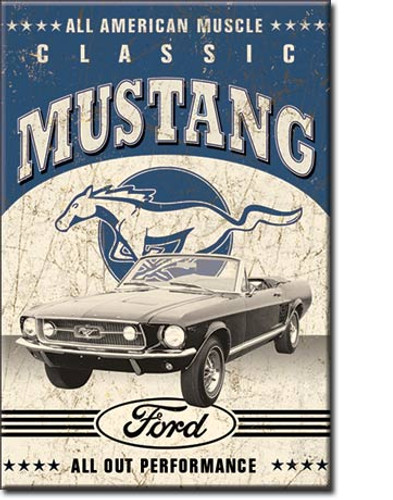 Classic Mustang Magnet