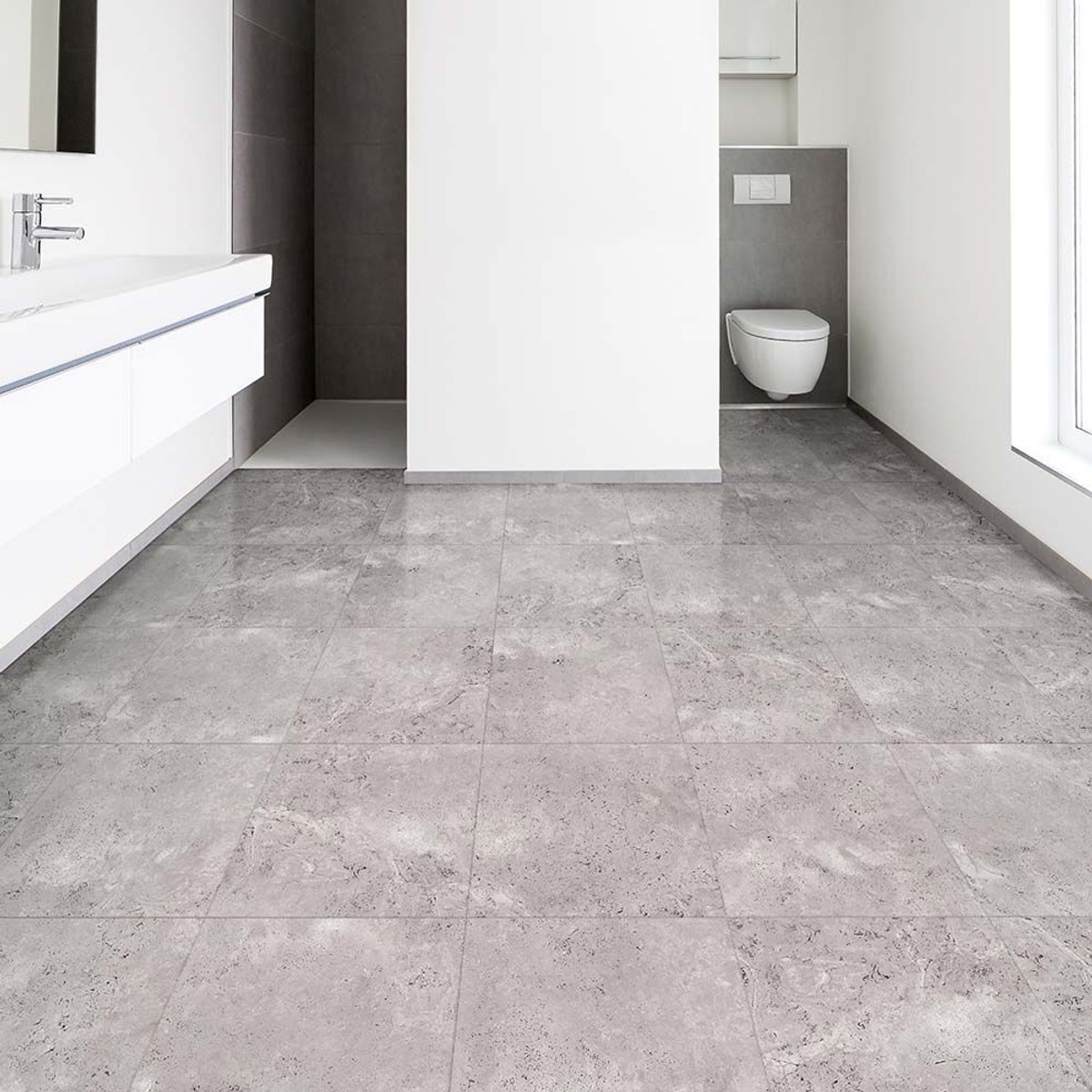 Perfection Floor Tile | Natural Stone Travertine Silver | Elite ...