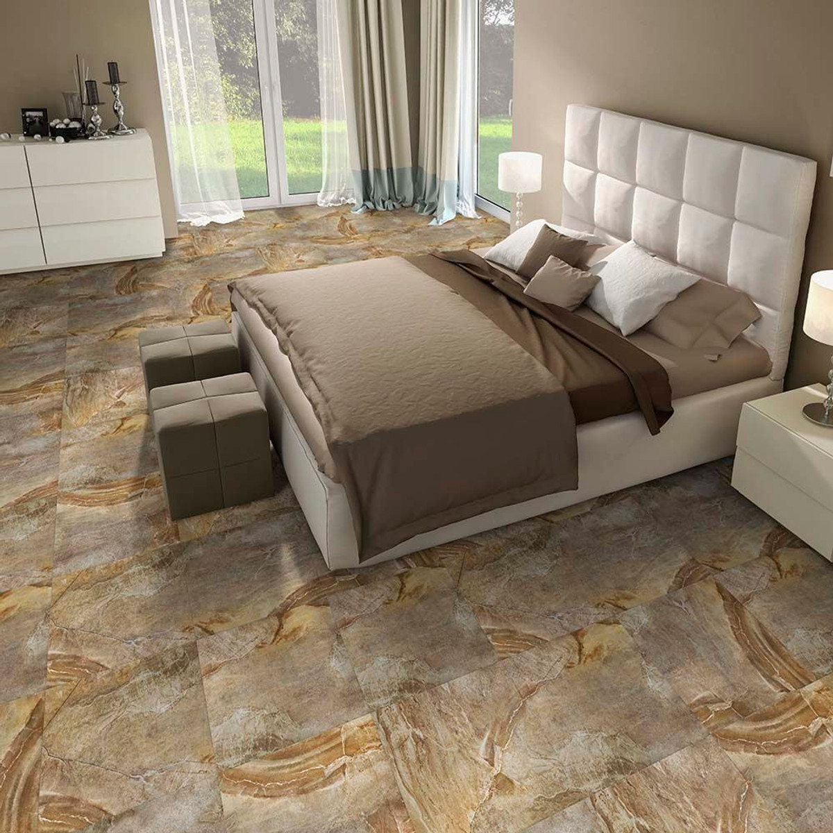 Perfection floor tile natural stone 20 x 20 x 5 mm canyon stone flexi tile natural stone canyon stone perfection floor perfection dailygadgetfo Images