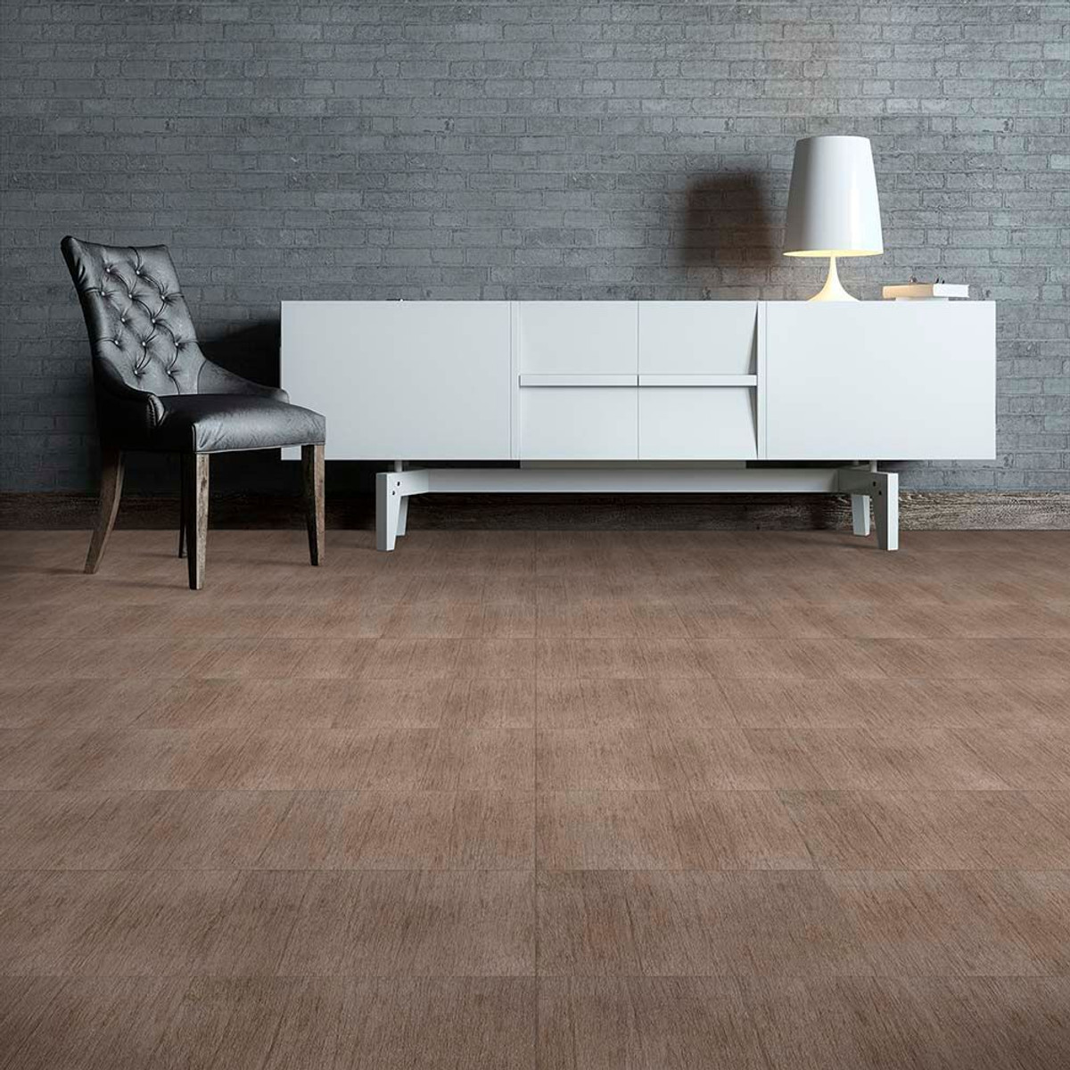 Perfection floor tile wood grain tile farmhouse wood luxury perfection floor tile wood grain farmhouse look millwood installed in an office dailygadgetfo Images