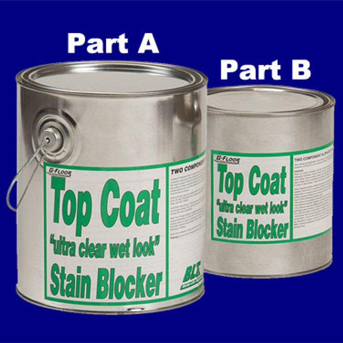 Top Coat Stain Blocker includes Part A & B