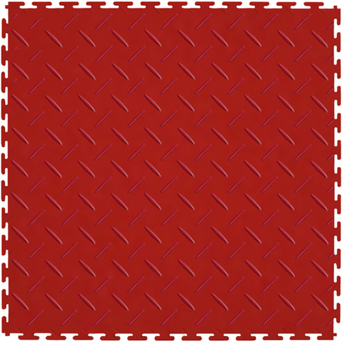 Flexi Tile Perfection Floor Tile Diamond Pattern Terracotta