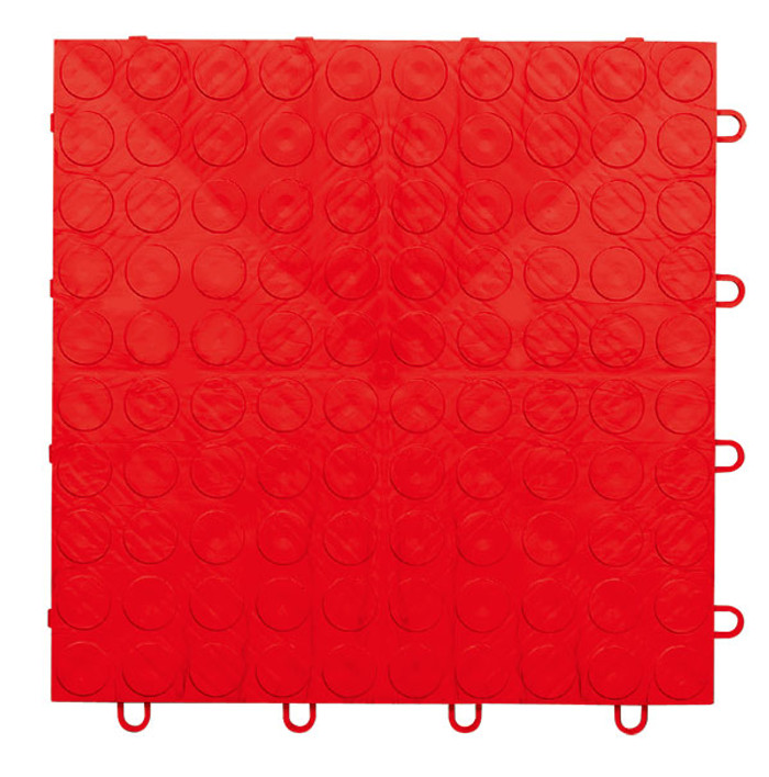 EX Tile Coin Pattern Red