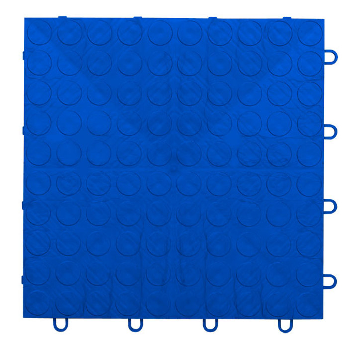 EX Tile Coin Pattern Blue