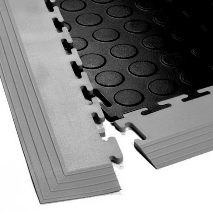Flexi Tile Corner Transition Edge 5MM (shown with coin tile)