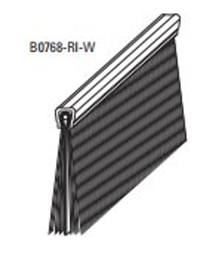 """Weatherblock Weatherseal - Image shows is the 1"""" Brush with Rubber Insert"""