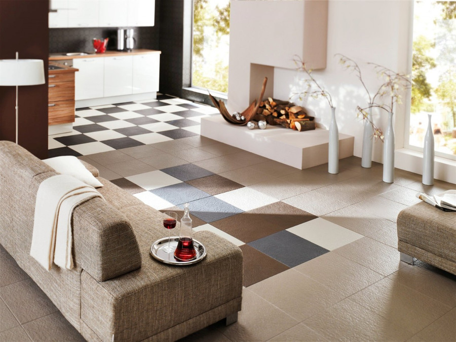 Home Style Slate Pattern Tile X X MM By Perfection Floor Tile - 20x20 slate tile
