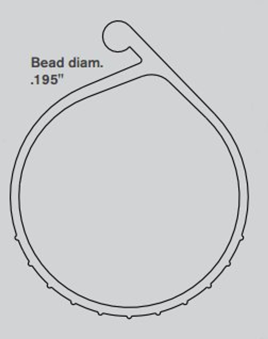 P-Bulb Bottom Seal Diagram
