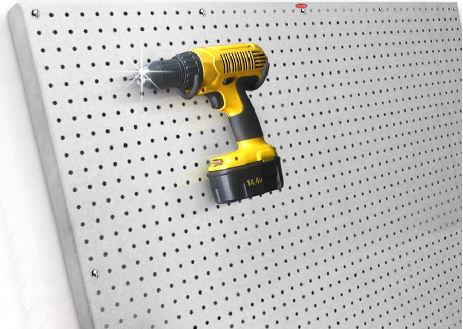 Peg Board Metal 2' x 4' (Available in: Galvanized, Stainless, Aluminum)