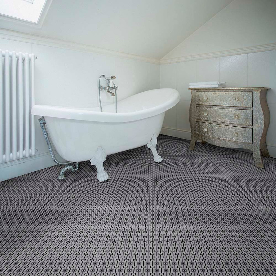 Tailor Grey used in a bathroom setting