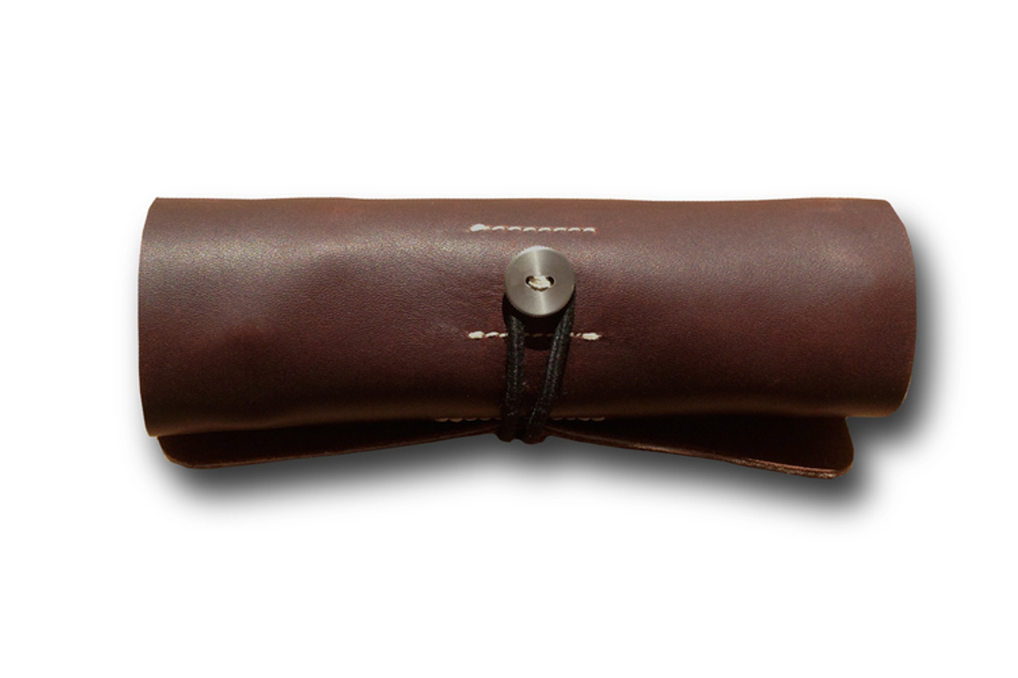 Brown Ledr Tool Roll
