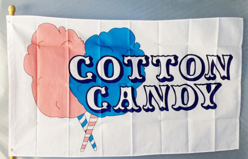 COTTON CANDY 3X5'  S-POLY FLAG