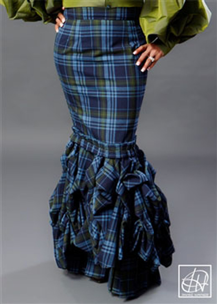 TAWNI HAYNES ROUCHED SKIRT