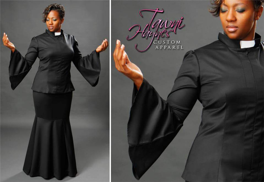 TAWNI HAYNES CUSTOM MADE CLERGY TOP