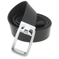 RS&A CROSS & CROWN MEN'S 100% LEATHER BELT #:05C104