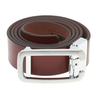RS&A CROSS & CROWN MEN'S 100% LEATHER BELT #:05C105