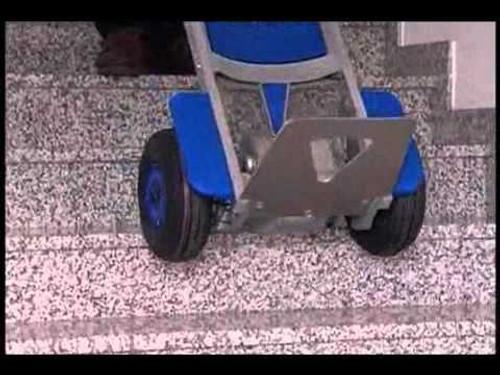 Wesco Liftkar Fold-L Battery Power Stair Climber HandTruck (300 lb. Capacity Pneumatic Wheels) - Wesco 274147