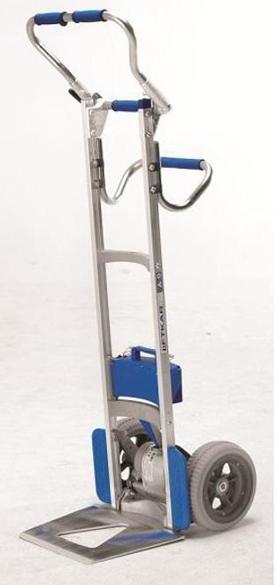 Wesco Liftkar Fold-L Battery Power Stair Climber HandTruck (240 lb. Capacity Flat Free Wheels) - Wesco 274155