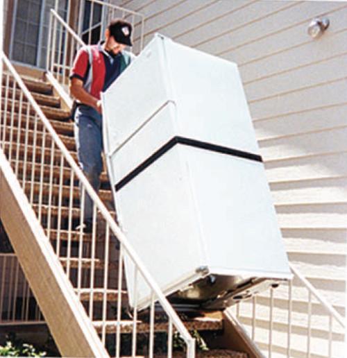 "Escalera MS-1-72 Staircat Powered Stair Climber (72"" H & 1200 LB Capacity)"