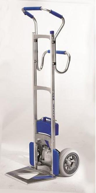 Wesco Liftkar SAL Ergo Power Stair Climbing Hand Truck  (375 lb. Capacity Flat Free Wheels) -  Wesco 274160
