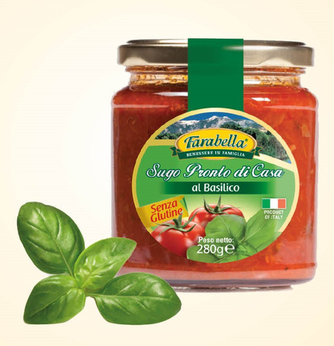 Gluten Free Tomato Basil Sauce