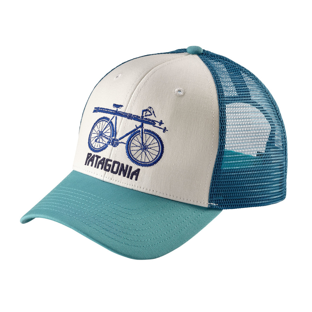 Snow Cycle Trucker Hat White ALL