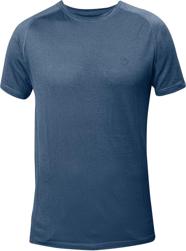 ABISKO TRAIL T-SHIRT UNCLE BLUE