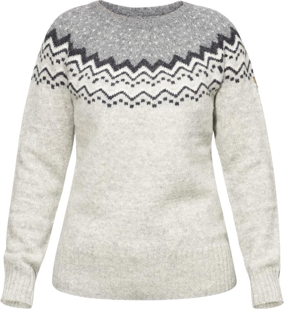 Ovik Knit Sweater W Grey