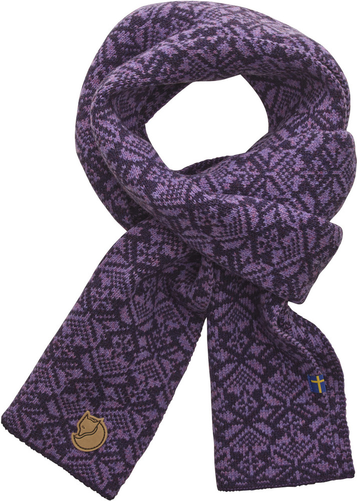 Snow Scarf Alpine Purple OneSize
