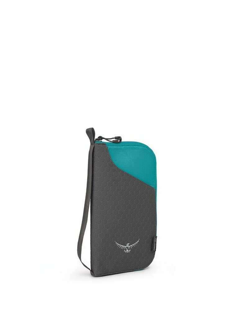 Document Zip Tropic Teal O/S