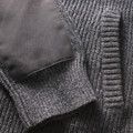 Ovik Zip Cardigan W  Light Grey