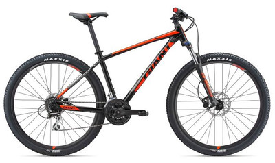 Talon 29er 3 L Satin Black/Neon Red